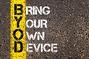 Effect of bring your own device byod on cybersecurity