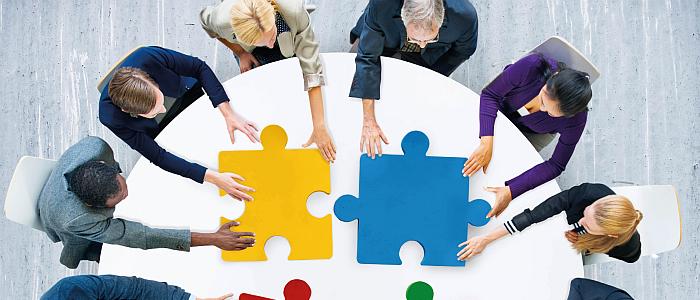 Samenwerking is essentieel voor succes