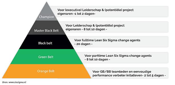 Succes bereiken met Lean Six Sigma