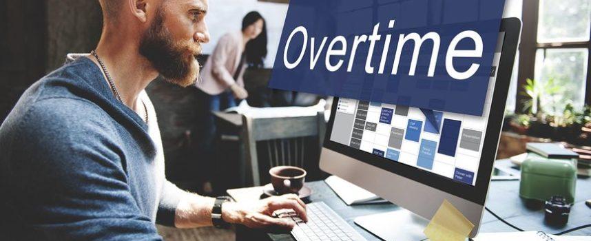 4 op de 10 werkt regelmatig buiten kantoortijden