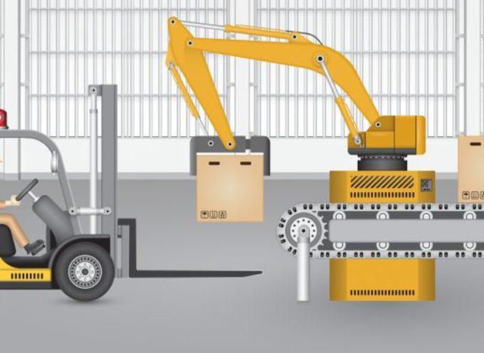 Het gebruik van robots in distributiecentra