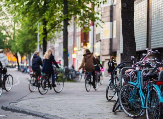 Een slim land geeft fietsers voordelen