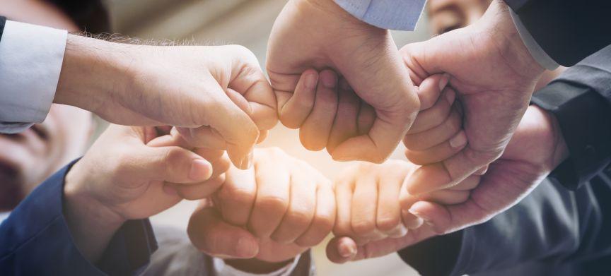 De ideale situatie voor samenwerking