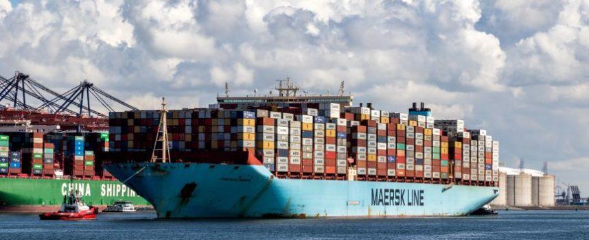 Groei containervervoer, forse toename transshipment
