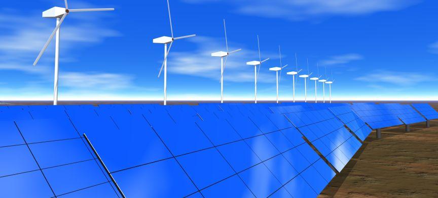 Meer elektriciteit uit hernieuwbare bronnen