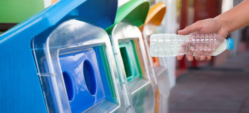 Via recycling 9 procent van materialen weer in economie
